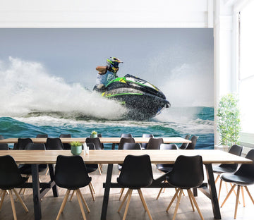 3D Jet Ski 991 Vehicle Wall Murals