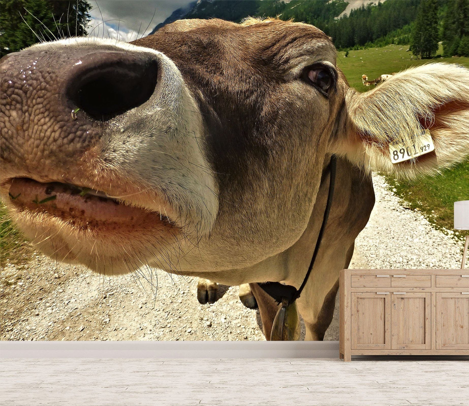 3D Cow Mouth 131