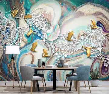 3D Color Graffiti 964 Wall Murals
