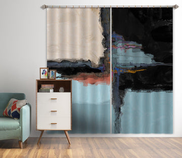 3D Abstract Frame 037 Michael Tienhaara Curtain Curtains Drapes Curtains AJ Creativity Home