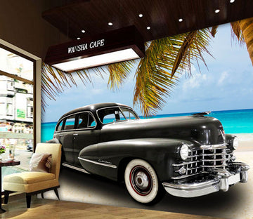 3D Coconut Vehicle 407 Vehicle Wall Murals