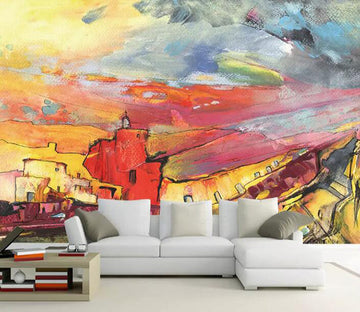 3D Sunset 1063 Wall Murals