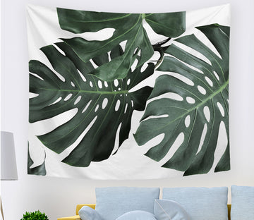 3D Summer Leaves 2391 Tapestry Hanging Cloth Hang