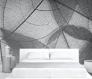 3D Transparent Leaves WG315 Wall Murals