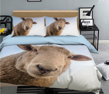 3D Sheep 1992 Bed Pillowcases Quilt