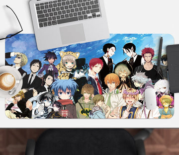 3D Anime Family 689 Desk Mat