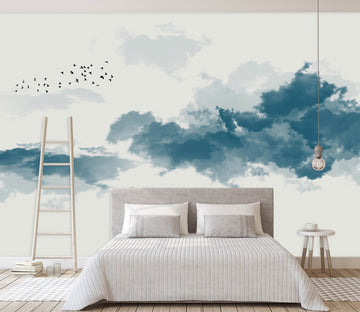 3D Black Splash Ink 1414 Wall Murals