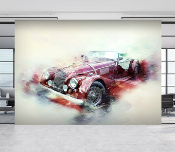3D Austin Colour 903 Vehicle Wall Murals Wallpaper AJ Wallpaper 2