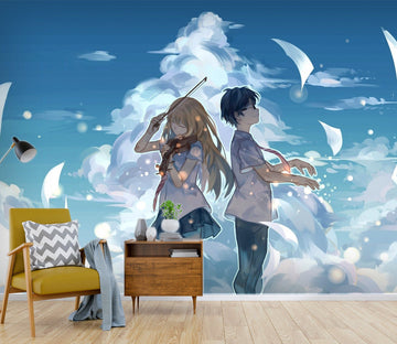3D Your Lie In April 070 Anime Wall Murals