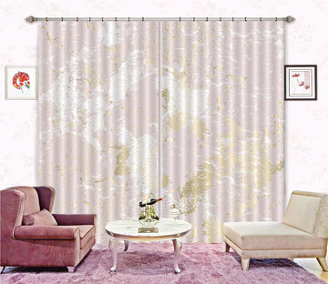 3D Abstract White Powder 79 Curtains Drapes Curtains AJ Creativity Home