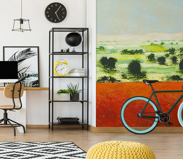 3D Grass Crude Oil Painting 255 Allan P. Friedlander Wall Mural Wall Murals