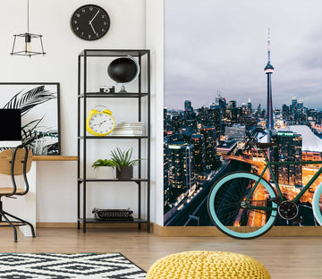 3D City Lights 2090 Wall Murals