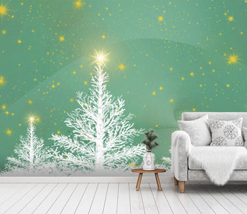 3D Shining Christmas Xmas Tree 6 Wallpaper AJ Wallpaper