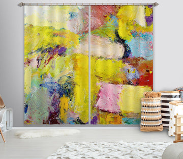 3D Abstract Art 205 Allan P. Friedlander Curtain Curtains Drapes Curtains AJ Creativity Home