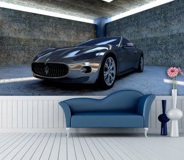 3D Maserati 996 Vehicle Wall Murals