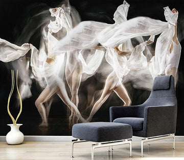 3D Dance 175 Wall Murals
