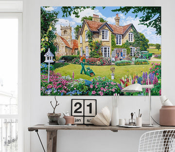 3D The Vicarage 080 Trevor Mitchell Wall Sticker