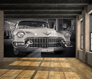 3D Silver Atuo 905 Vehicle Wall Murals