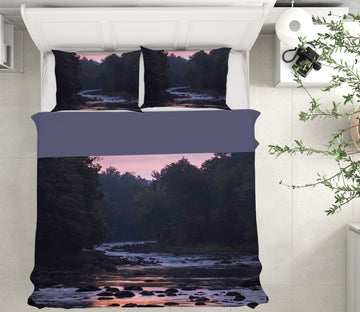 3D Twilight River 1033 Jerry LoFaro bedding Bed Pillowcases Quilt