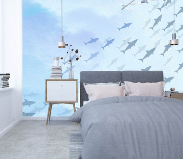 3D Sea Fish 009 Wall Murals