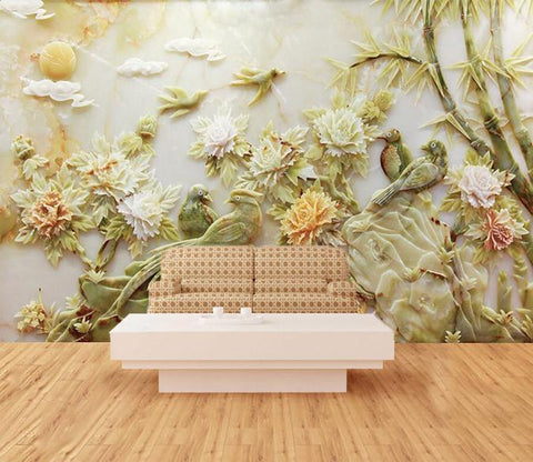 3D Flower bamboo forest - AJ Walls - 1