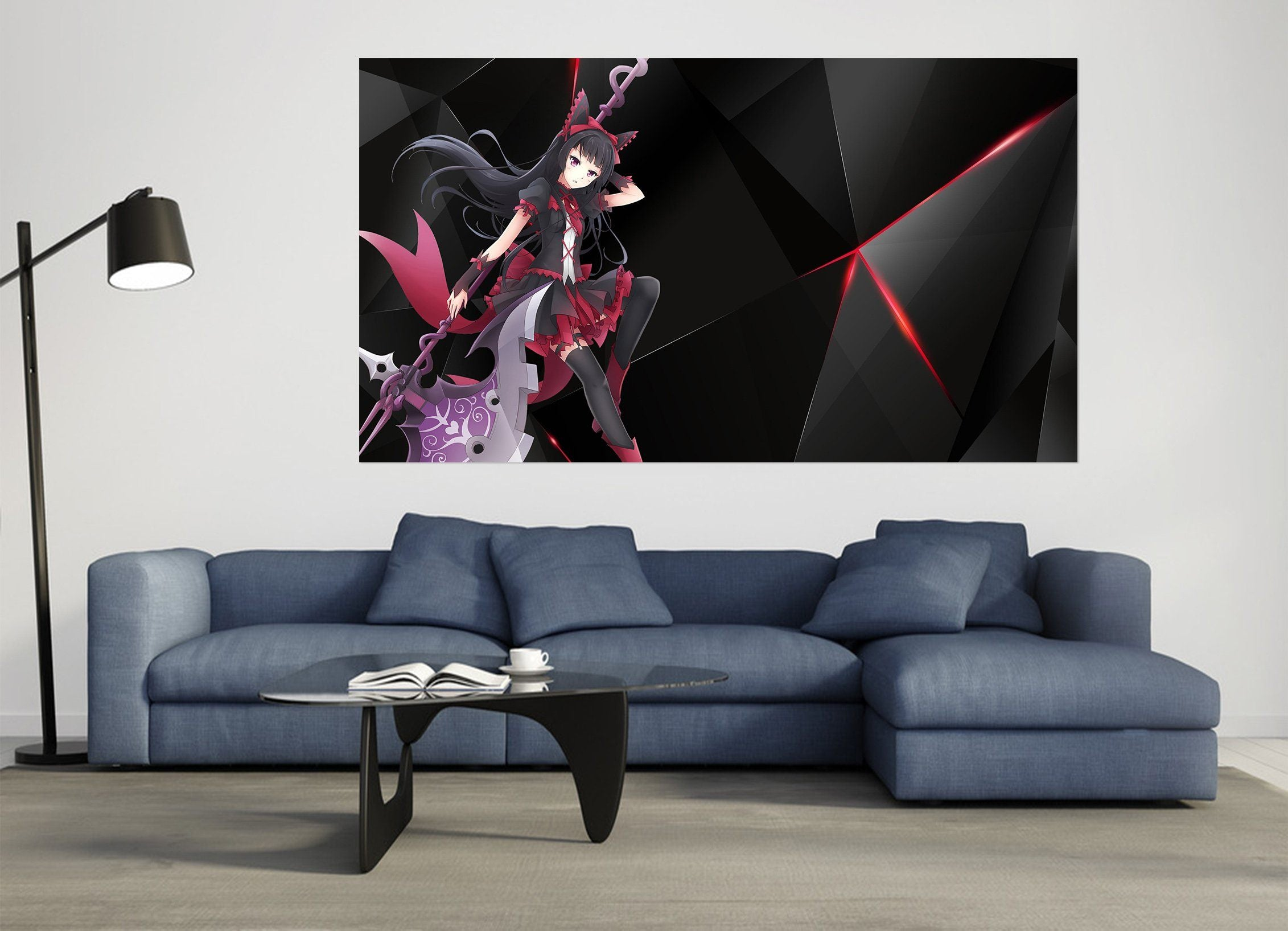 3D Gate 020 Anime Wall Stickers