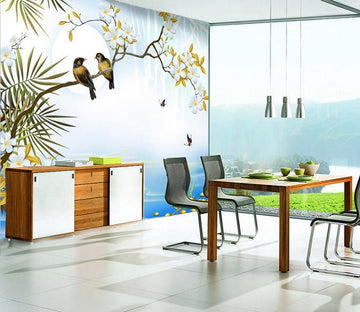 3D Bird Nature decals Wallpaper AJ Wallpaper 1