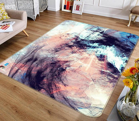 3D Abstract Graffiti 170 Non Slip Rug Mat