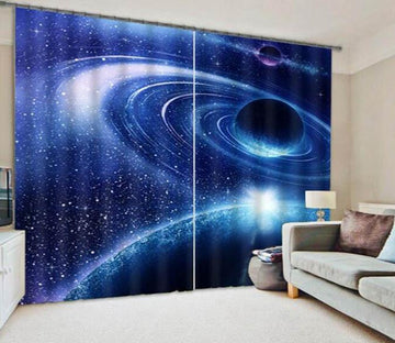 3D Space Planets 923 Curtains Drapes Wallpaper AJ Wallpaper