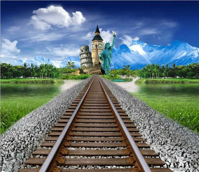 Railway Tracks Wallpaper AJ Wallpaper