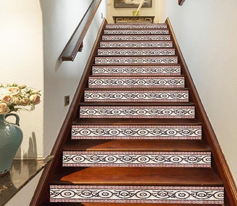 3D Slices Pattern 1687 Stair Risers