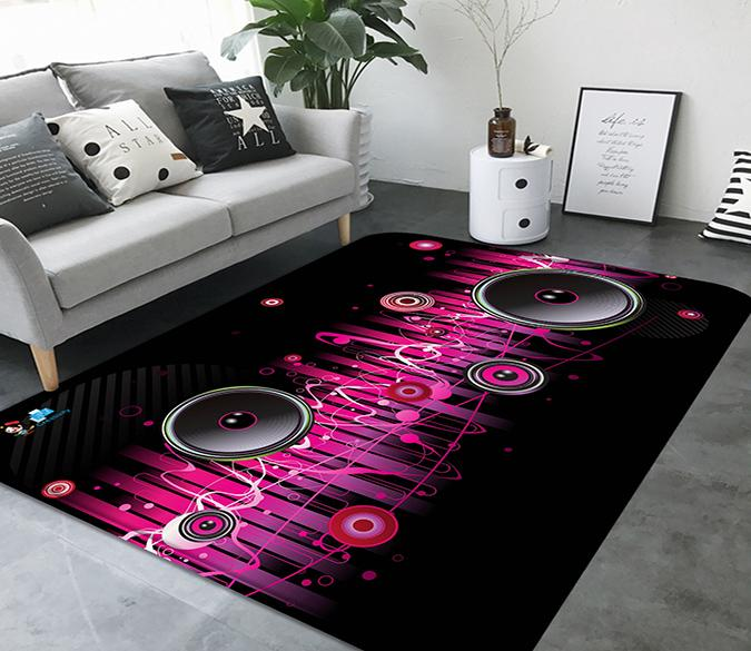 3D Music Audio 17 Non Slip Rug Mat Mat AJ Creativity Home