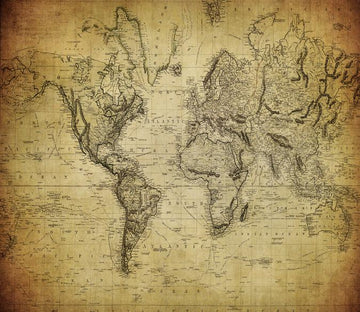 Detailed World Map Wallpaper AJ Wallpaper