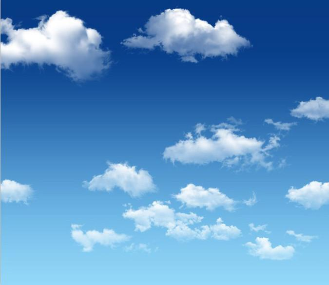 Floating White Clouds Wallpaper AJ Wallpaper