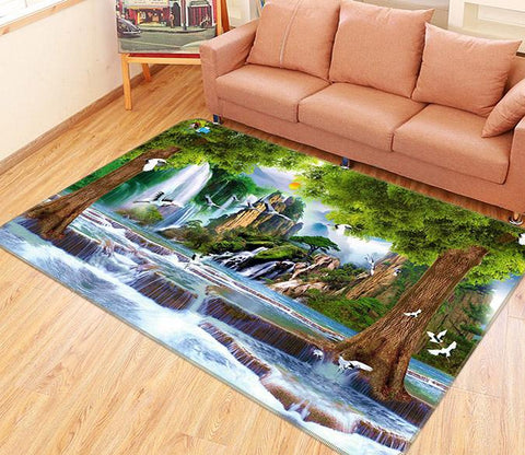 3D Beautiful Scenery 202 Non Slip Rug Mat