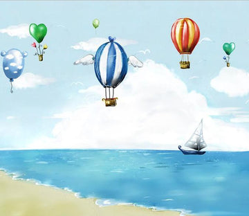 Flying Balloons Wallpaper AJ Wallpaper