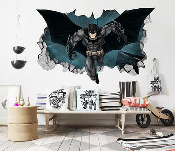 3D Batman 144 Broken Wall Murals