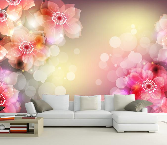Fantastic Flowers Wallpaper AJ Wallpaper