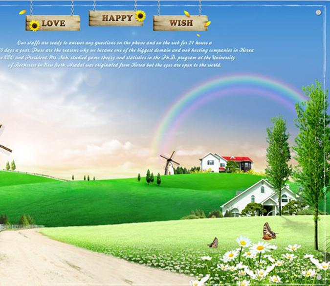 Beautiful Village 1 Wallpaper AJ Wallpaper