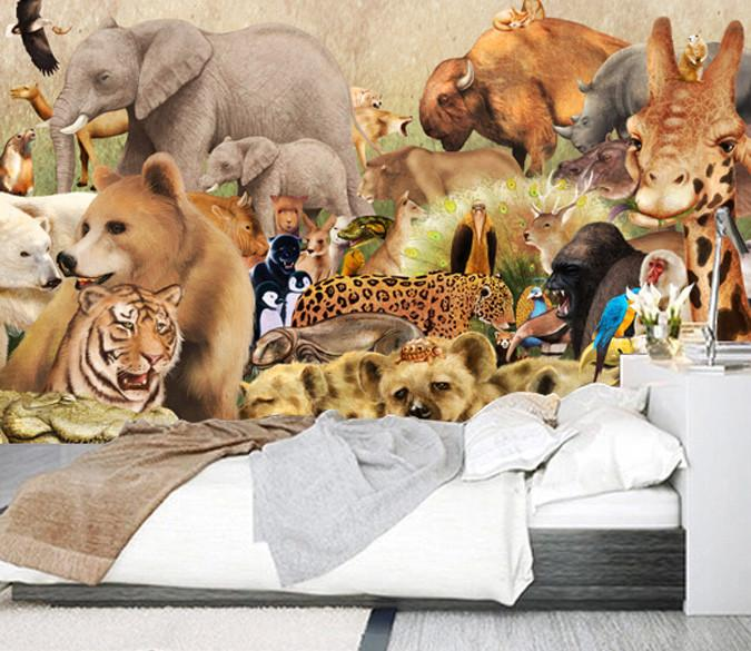 Animals Paradise Wallpaper AJ Wallpaper
