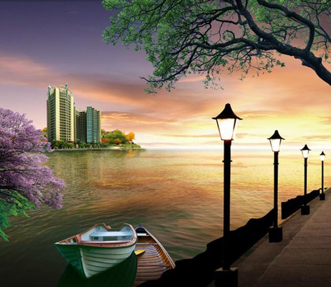Riverside Scenery 1 Wallpaper AJ Wallpaper