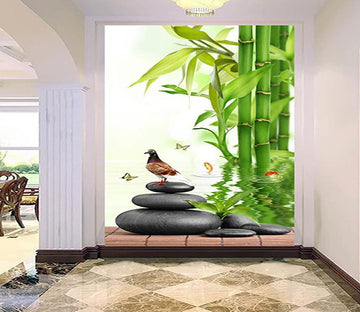 3D Bamboo Fores Butterfly 371