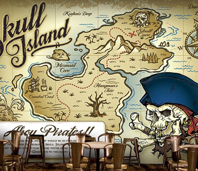 Skull Island Map Wallpaper AJ Wallpaper
