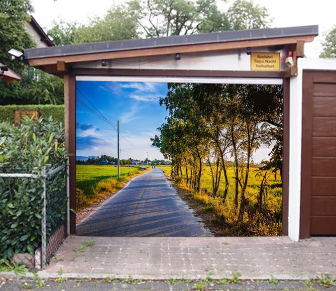 3D Countryside Scenery 235 Garage Door Mural Wallpaper AJ Wallpaper