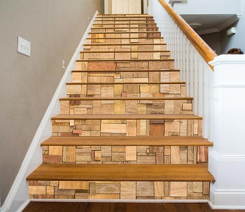 3D Wooden Cubes 1135 Stair Risers