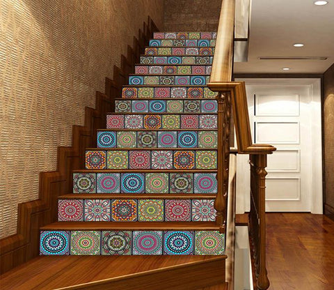 3D Complicated Pattern 1683 Stair Risers