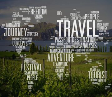 Travel Map Wallpaper AJ Wallpaper