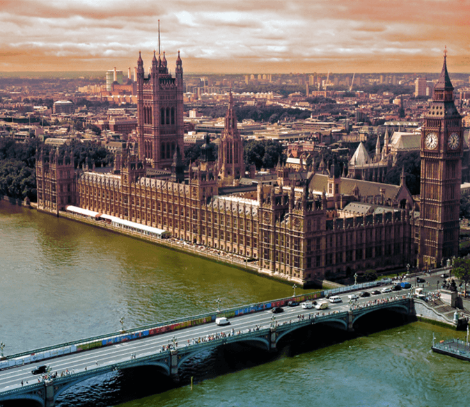 Sights of London Wallpaper AJ Wallpapers