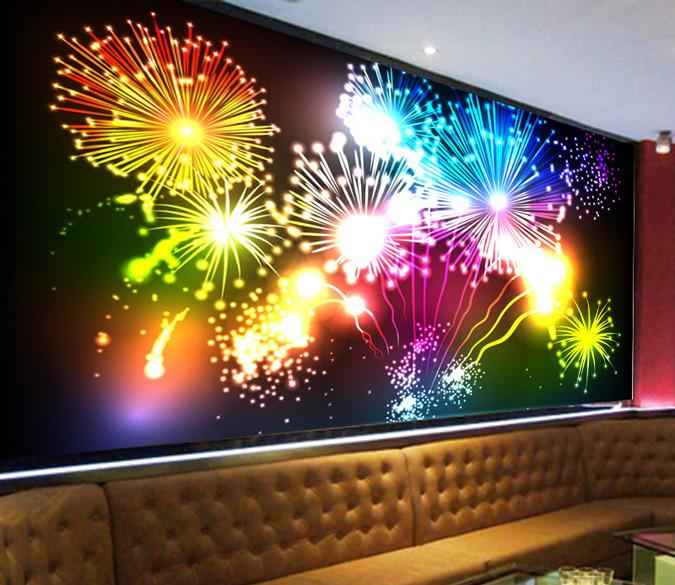 Fireworks Wallpaper AJ Wallpaper