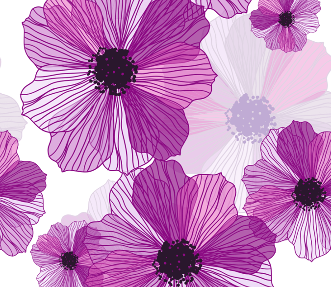 Purple Blossoms 4 Wallpaper AJ Wallpaper